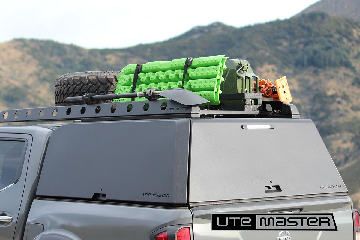 Utemaster Aluminium Canopy Super Customisable Adventure Touring Overlander